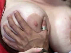 Amazing Daphne Rosen and her huge melons