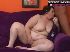 White Plumper A-hole Bonks Large Dick Amazing Fat Tits Part