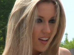 Glamorous European Blue Eyed Blondie