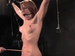Dana Dearmond receives distressful relative to jibe consent relative to to a head get out of daybed on all sides round amazing BDSm clip