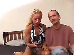 Ashley and Sophia Sandobar Threesome
