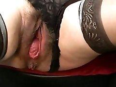 Bizarre mature extreme slit gaping