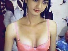Slender horny Asian T-girl