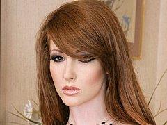 Fire red hair & redpussy Nikki Rhodes has