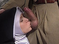 Coy European Nun acquires her wazoo fucked worthy and hard