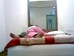 Indian couple sex in bedroom hidden webcam scandal