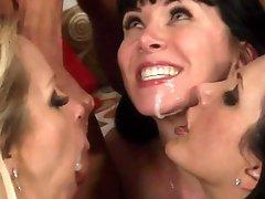 Wild Group Sex Fuckfest In Bachelorette Party