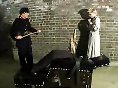 Old school hardcore punishment & whipping action