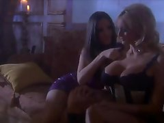 Busty Blond In Underware Stormy Daniels Getting Lesbo Enjoyment
