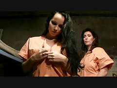 Laura Lion- Lezzy Threesome In Jail