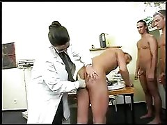 Large Titty M.D. Has Gang-bang With Soldiers