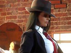 The Hottest Latin babe Mafia Boss Ever Mikayla Mendez Fucks Her Tailorman