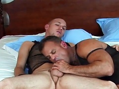 Husband is enticed to try gay sex with a very sexy male...