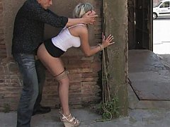 Young Leyla gets drilled very hard