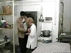Granny  Fucked In Restaurant Kitchen xLx