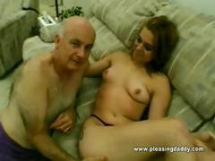 Grand-dad Dave Copulates A 18 Year Old Doxy