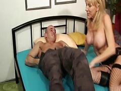 Blond German Older In Nylons Anal sex Fuck