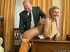 Classics teacher irrumation cum filled pussy