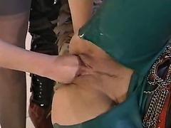 FFM - Latex anal sex and fist