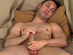 Delightful Gay Man Devon Hunter Shows How That guy Jerks Off On Camera...