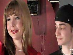 T-girl Totally Owns Slender White Man In Restrooms