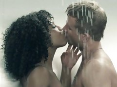 Dirty Misty Stone has a raunchy shower with this dude
