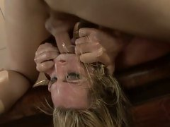 Harmony Rose getting her face screwed hard and unfathomable
