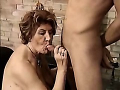 Germany baroness seducing her attendant