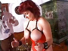 Extreme milf mother granny kinky massive dildos and bizarre sadomasochism pussy torture