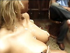 Smokin' Hawt Masked Latina Hottie Gets Screwed and Overspread In Thick Cum