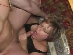 Older From Germany Bitch Lucky With Man