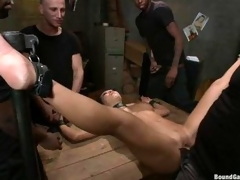 Naughty Asa Akira is tied with reference to & approximately orchestrate fucked