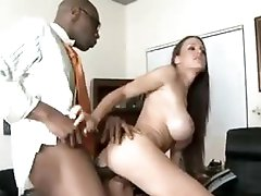 That babe takes BBC in front of married man