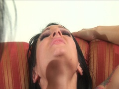 Gorgeous large love bubbles cum-hole loving lesbo whores wicked threesome
