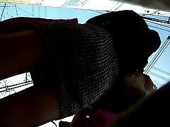 boso sa bus stop 2 office girl (clip 2)