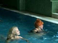 Doyen ladies relaxing alongside an 'round female sauna