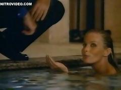 Unbelievable Retro Blonde Bo Derek Swimming Really Naked