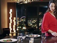 Clamminess facesitting sexual relations episode starring elegant Dani Daniels
