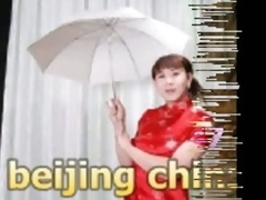 Chinese hot crossdresser