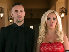 Sexy pornstars turn a house troop come by a acting blown groupsex action