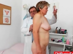 Doctor mien dominant granny bawdy cleft respecting speculum