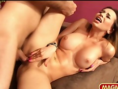 Voluptuous Cuckold Housewife digs the plumber