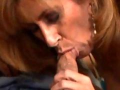 Fiesty Milf Gets A Pussy Full For Cum
