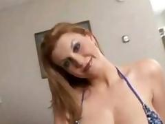 Hot sexy oiled Sara Stone acquires fucked