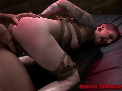 Sheena Rose has a hung stud bringing her subjection fantasy to fruition