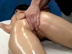 Callie Cyprus gets erotic well-to-do massage
