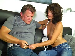 Hot ill-lit wife is badly off of her randy lover's erected dick