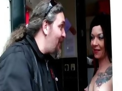 Non-professional guy visits tattooed gripe more Amsterdam