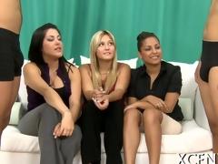 Jizz on tits of beauties episode 7