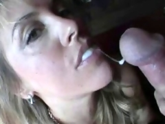 Untrained wife swallow compilation